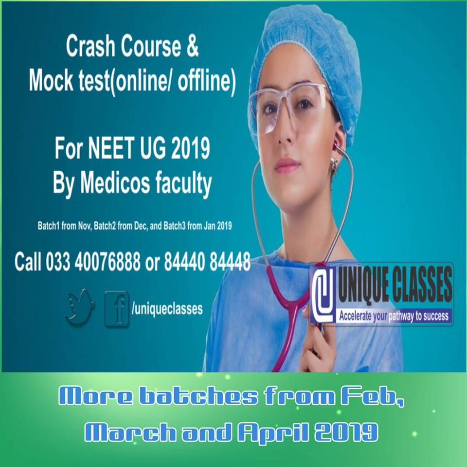 NEET UG crash course by UNIQUECLASSES Medicos faculty